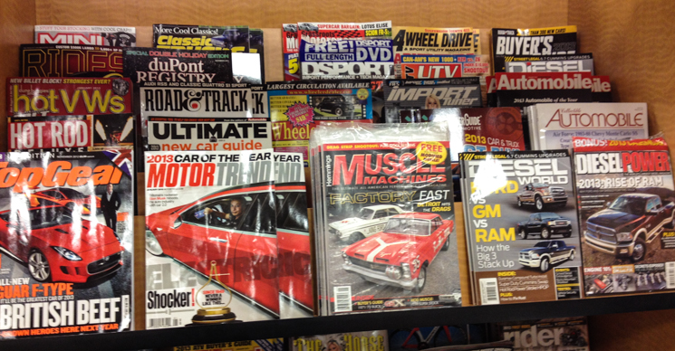 Do You See Anything Wrong With This Picture? How Many Magazines Dedicated  To Import Cars Can You See On The Shelf? I Spot Two: DSPORT And Import  Tuner.