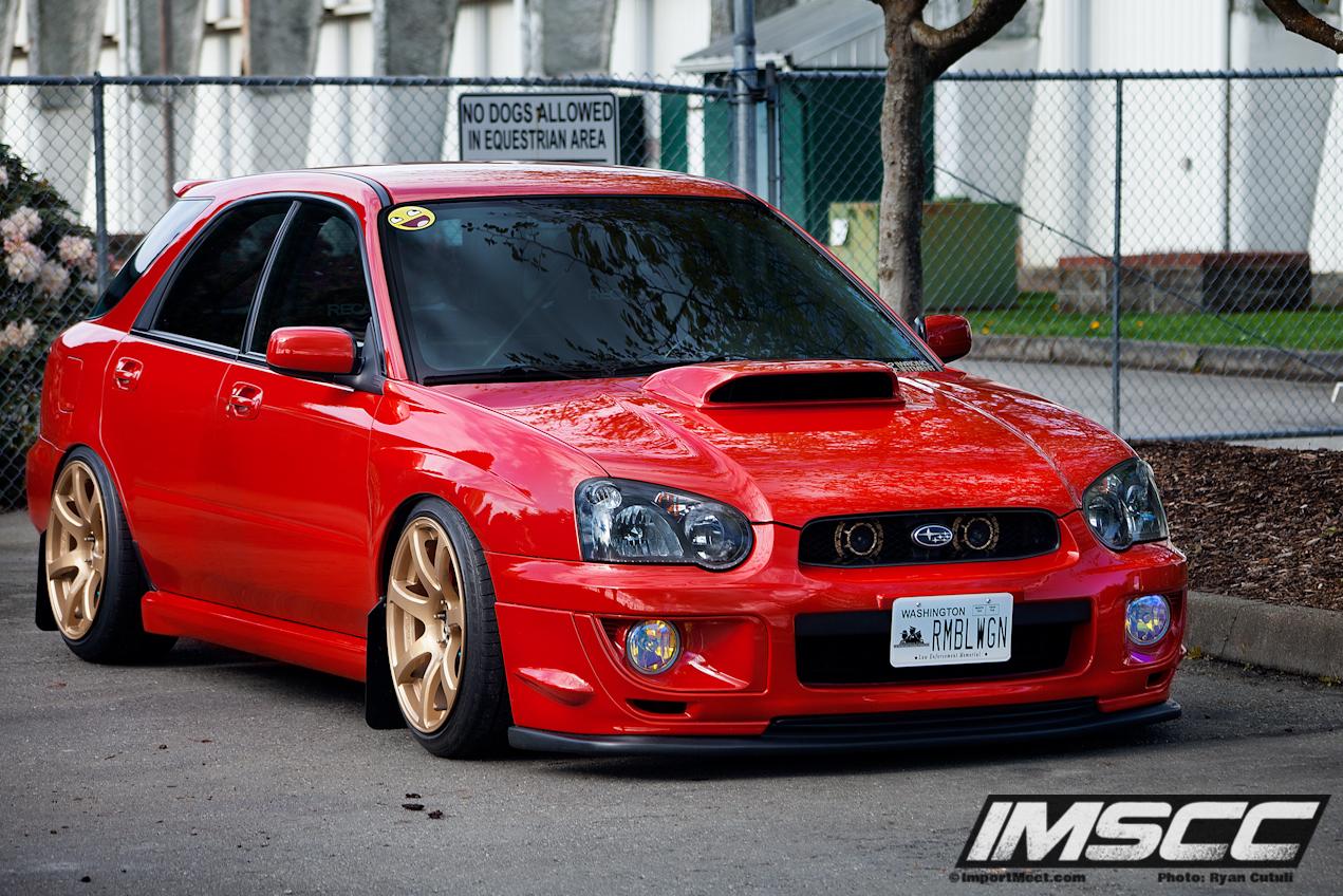 2004 Subaru Impreza Wrx Rumble Wagon 2013 Imscc Competitor