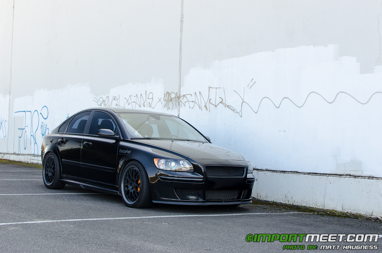 Driven to be Different - Kyle Pike's 2006 Volvo S40 | Import Meet