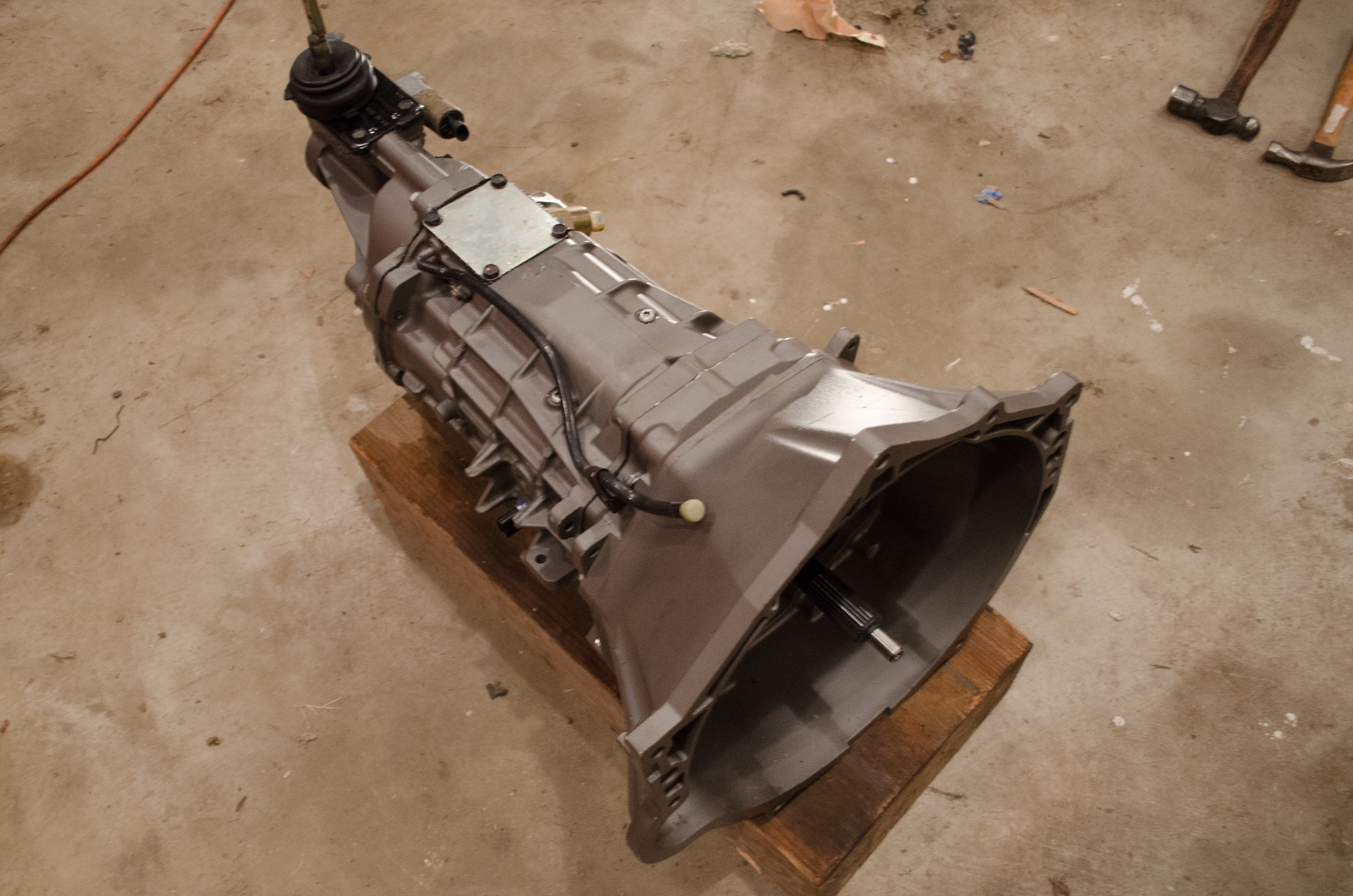 Project V8 RX-7 Update 14 - T56 Transmission and C4