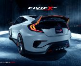Honda Civic Type R Rendering
